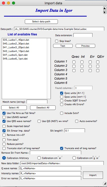 Import data — Irena and Nika manuals 1 4 documentation